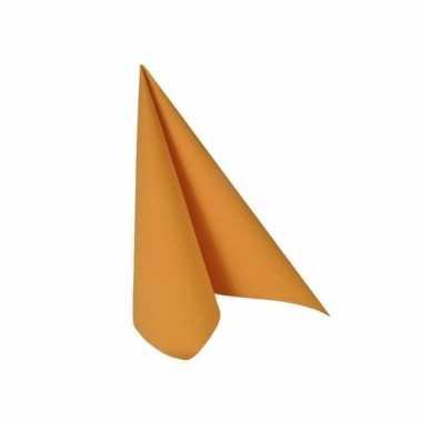 Fel oranje zakdoeken