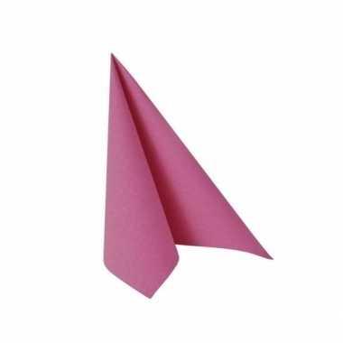Fuchsia roze zakdoeken