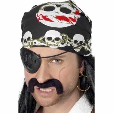 Piraten zakdoek doodskoppen