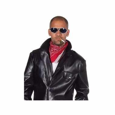 Rode biker zakdoek
