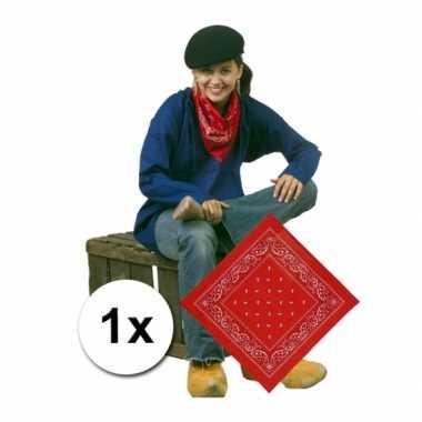 Rode boeren zakdoek