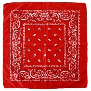X rode boeren zakdoeken