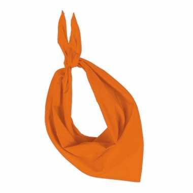 Zakdoek oranje