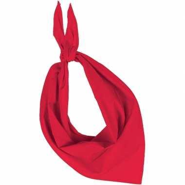 Zakdoek/zakdoek rood volwassenen