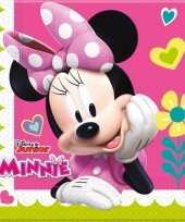 X minnie mouse themafeest zakdoeken papier