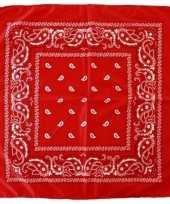X rode boeren zakdoeken 10188410